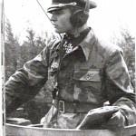Max Wünsche wearing Italian camo (Telo Mimentico M29) in Normandy