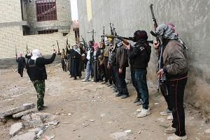 Insurgentes iraquies de al-qaeda