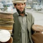 Vendedor en las calles de kabul
