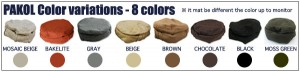 Tonos de color de pakols