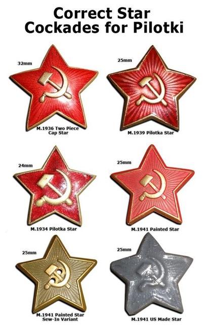 Comparativa estrellas de pilotka