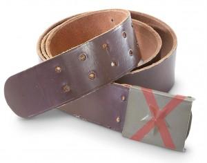 Cinturon checo, no valido.